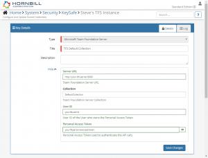 Team Foundation Server - Hornbill